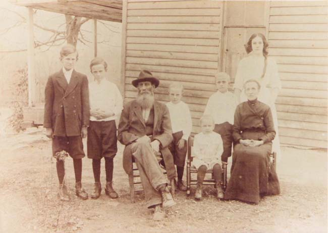 Alexander H. Harrison (1852-1931) and family.