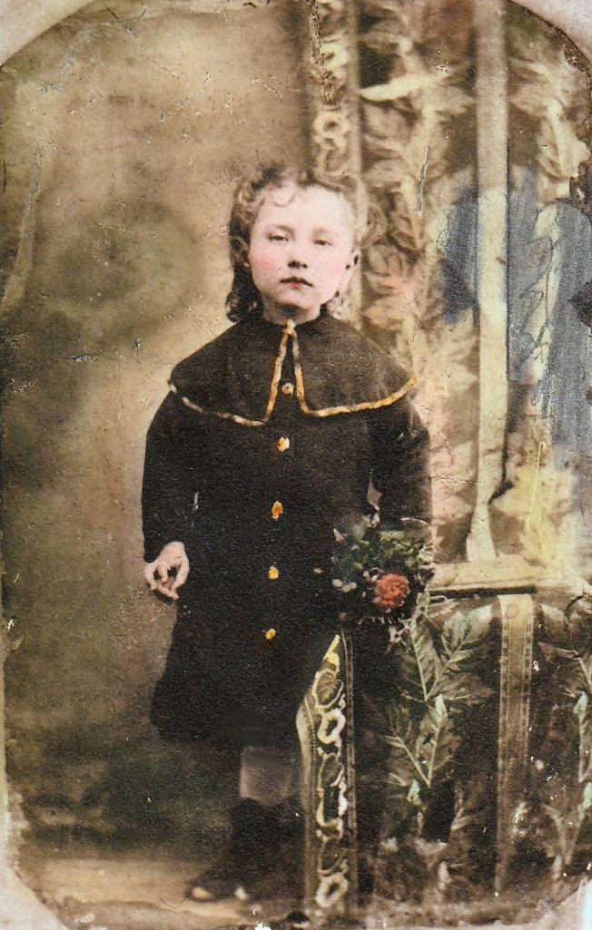 Mary Pearl Harrison Kelly (Mama Kelly) as a child