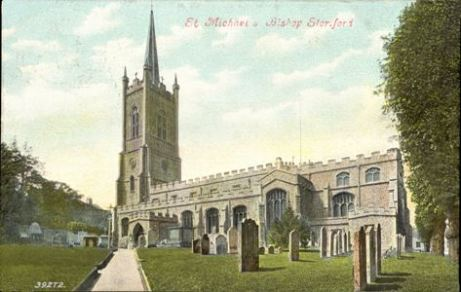 St. Michaels Church in Bishops Stortford, Herfordshire, England.