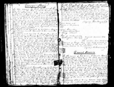 George Peay Will , 7 June 1803, Rockingham County, North Carolina