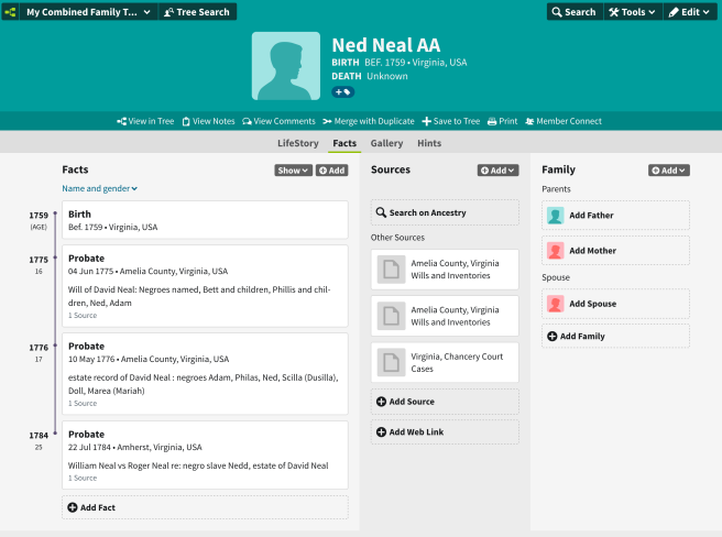 Ned Neal profile screenshot